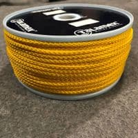 Yellow 4mm Polypropylene Slipstream Cord